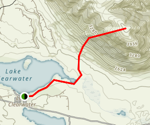 Mount Guy Track Map
