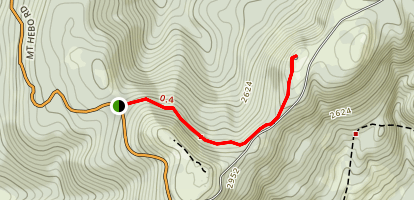 Mount Hebo Map