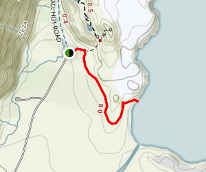 Tasman Lake Track Map