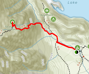 Sealy Tarns Track Map