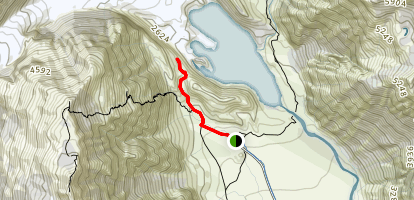Kea Point Trail Map