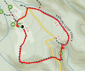 Kapuni Loop Track Map