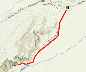 Clay Cliffs Track Map