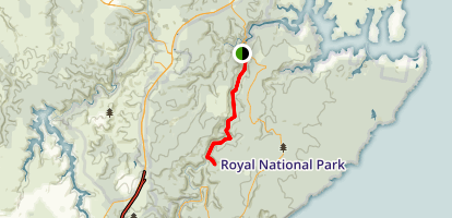 Palona Cave via Lady Carrington Drive Map
