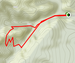 Trotter's Gorge Track Map