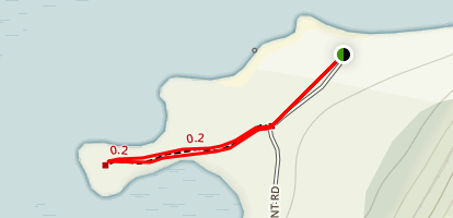 Doctor's Point Trail Map