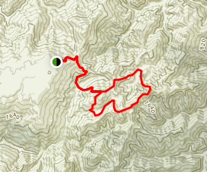 ABC Cave Trail to The Gap Map