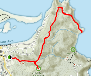 Kohi Point Walkway Map
