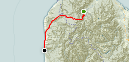 Heaphy Track Map