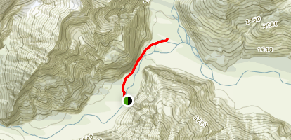 East Matukituki Track Map