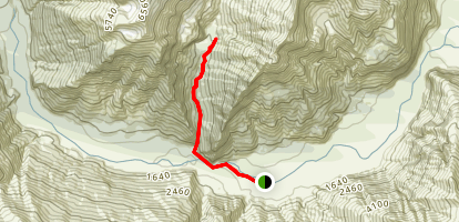 Rob Roy Glacier Track Map