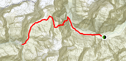 Cascade Saddle Track [CLOSED] Map