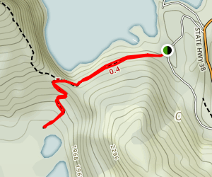 Lake Kiriopukae Walk Map