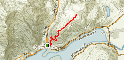 Queenstown Hill Walkway Map
