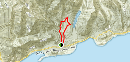 Mount Crichton Loop Track Map