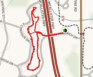 Olmos Park Area Trails Map