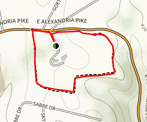 Cold Spring Municipal Park Trail Map