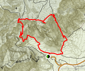 Hunter Peak Map