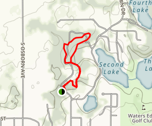 Branstrom Park Area Trails Map