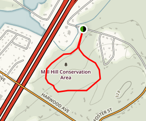 Mill Hill Trail Map