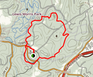 Jockey Hollow: Grand Loop Trail Map