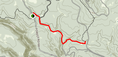 West Fork Black River Trail Map