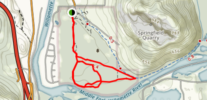 Dorris Ranch Loop Trail Map