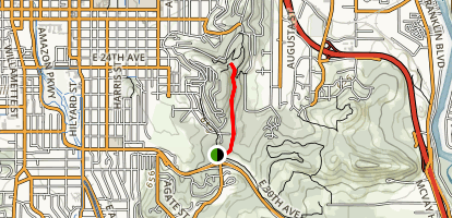 Ribbon Trail to Floral Hill Map
