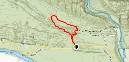 Sound of Silence Trail Map