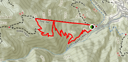 The Incline Trail Map