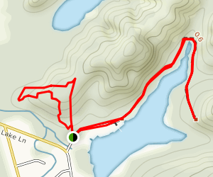 Cullaby Lake Trail Map
