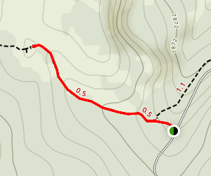 Peter Sinks Trail Map