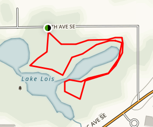 Lake Lois Habitat Reserve Map