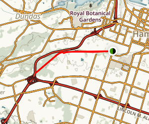 Chedoke Radial Trail Map