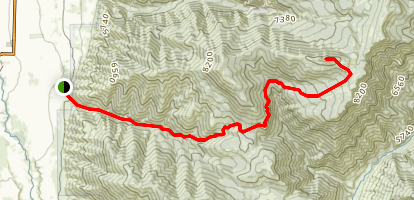 Millville Peak Trail Map
