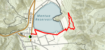 Eagles Rise Trail Map