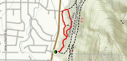 Quail Trail Loop Map