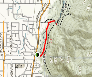 Power Line Trail Map