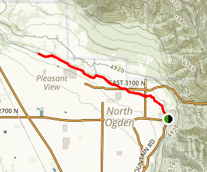 McGriff Canal Trail Map