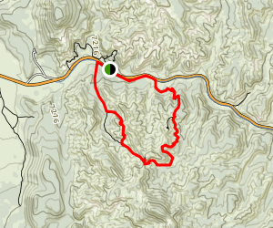 Golden Wall Trail Map