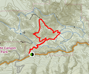 Burro Loop Trail Map