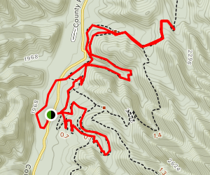 Old Roads Trail Map