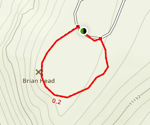 Brian Head Peak Trail Map