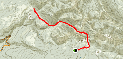 Burro Pass Map