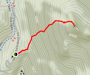 Tremont Mountain Trail Map