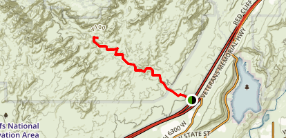 Cottonwood Trail Map