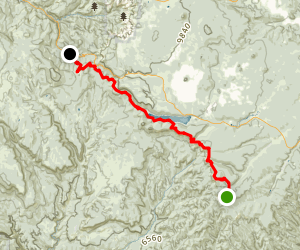 The Virgin River Rim Map