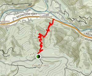 French Hill Trail Map
