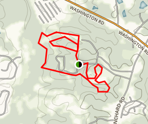 Blanchard Woods Cross Country Trail Map