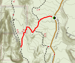 Lava Tube Trail Map